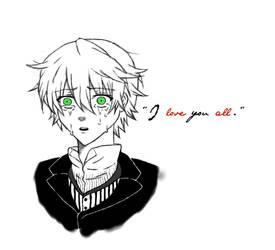 Pandora Hearts - Oz - I love you all. by MakeAWishJustLikeMe