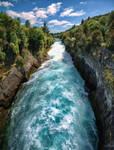 Huka Falls by ImaginariumBlahnik