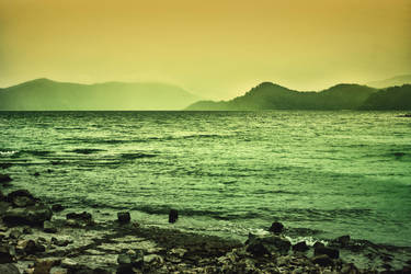 Lake Waikaremoana, New Zealand by ImaginariumBlahnik