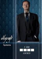 Mycroft Systems Blue Lockscreen by akatsukinoshimo