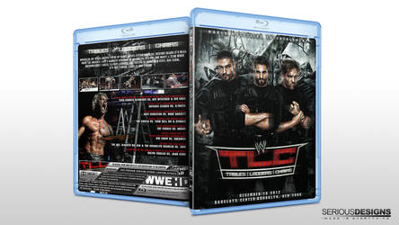 WWE TLC 2012 Blu-Ray Cover by SeriousDesigns