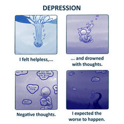 Depression - Drowning (VIVA) by myoo89