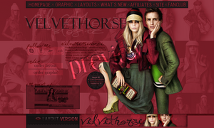 Cara Delevingne and Eddie Redmayne layout by VelvetHorse