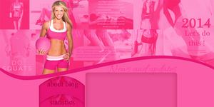 Fitness layout by VelvetHorse