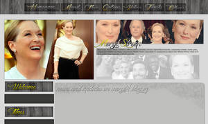 Meryl Streep layout by VelvetHorse