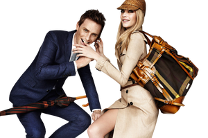 Cara Delevingne and Eddie Redmayne PNG by VelvetHorse