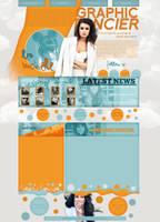 Lea Michele layout 8 by VelvetHorse