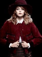 Emma Stone PNG 1 by VelvetHorse