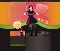 Demi Lovato layout 4 by VelvetHorse