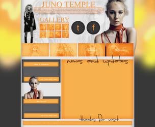 Juno Temple layout 1 by VelvetHorse