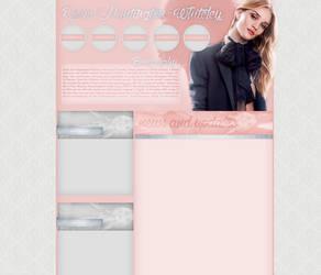 Rosie Huntington-Whiteley layout 5 by VelvetHorse