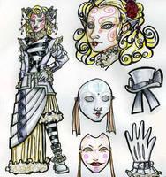 Keratin Jane character sheet by NibbleKat