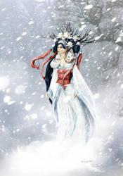 Snow Maiden by bobgreyvenstein