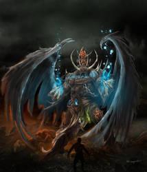 Demon mage by bobgreyvenstein