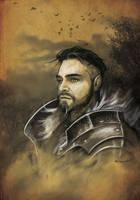 Knight Portrait by bobgreyvenstein