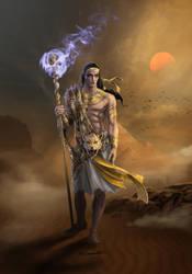 Kephenes - Cleric of God of Magic - Commission by bobgreyvenstein