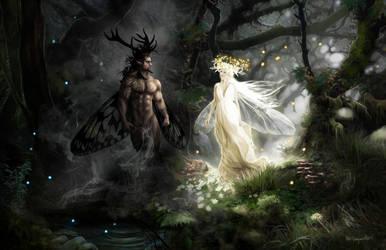 Oberon and Titania by bobgreyvenstein
