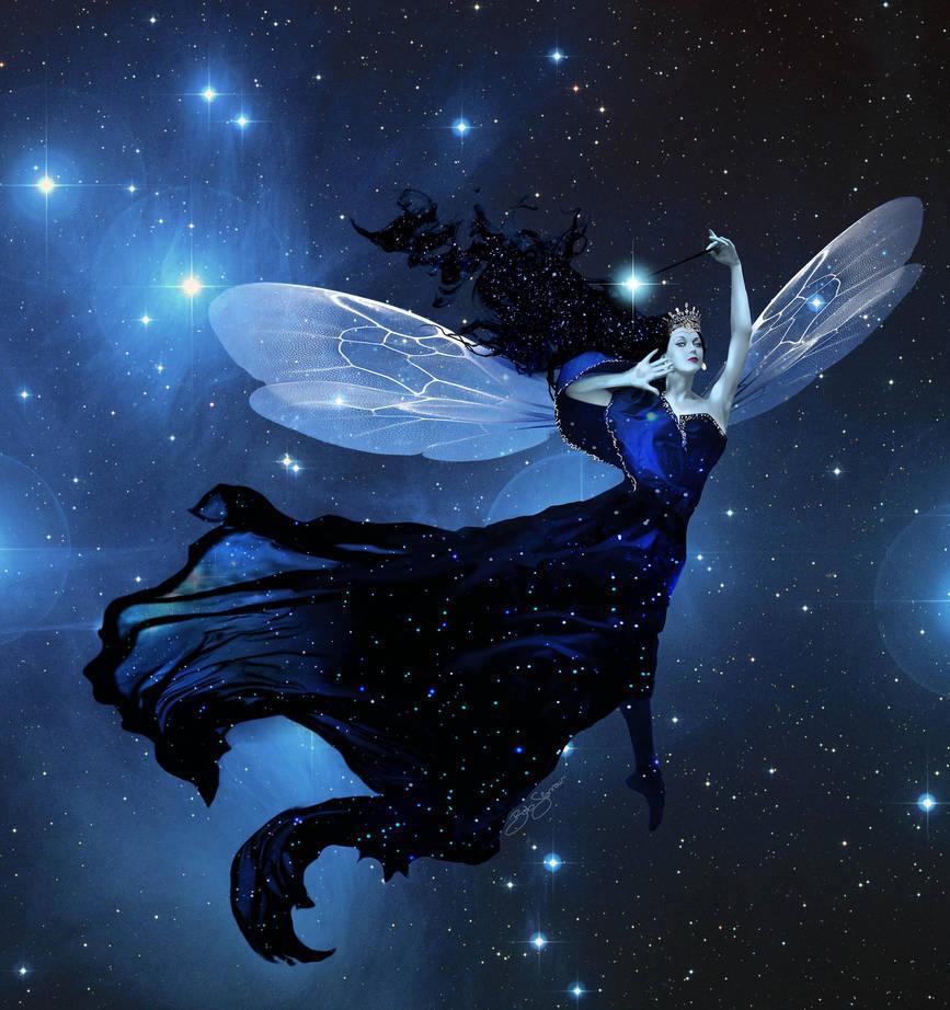 Commission: Star Fairy by bobgreyvenstein