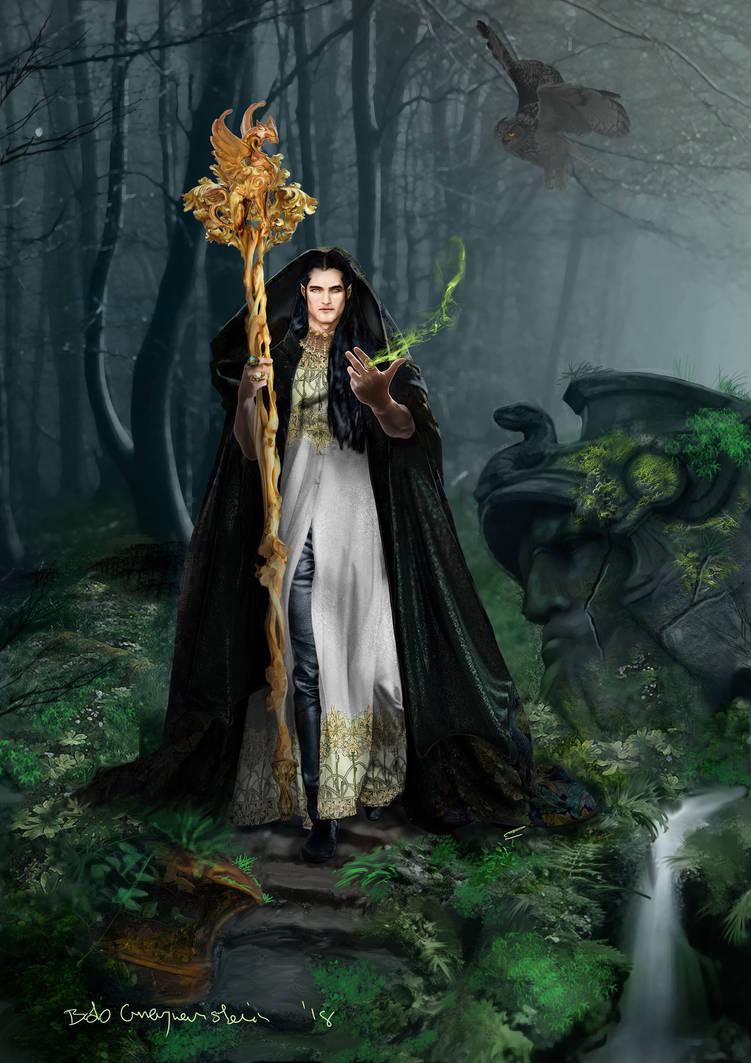 King Fingolfin of the Noldor by bobgreyvenstein