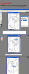 CorelPainter Lineart Tutorial by tsuki50