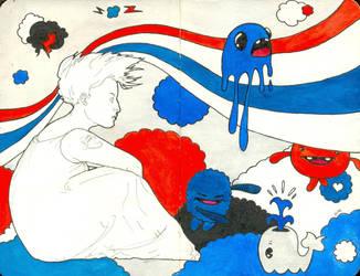 Kawaii Dream by LadyOrlandoArt