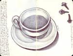 Cafe Y Clavos De Olor by LadyOrlandoArt