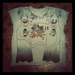 Ghostly t-shirt by LadyOrlandoArt