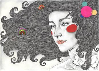 Saoirse Ronan by LadyOrlandoArt