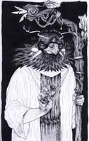 Raven witch by LadyOrlandoArt