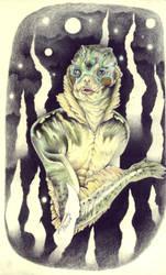 The Creature by LadyOrlandoArt