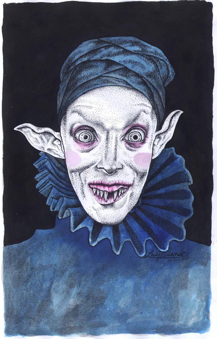 Nosferatu by LadyOrlandoArt