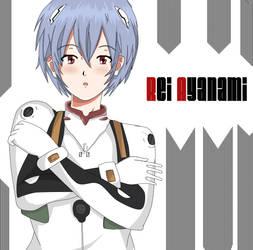 Neon Genesis - Rei Ayanami by FATMONG