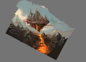Citta sul vulcano 1 by peppoW