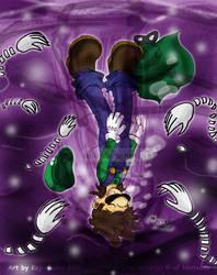 Mario: Drowning in River Twygz by saiiko