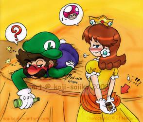 Mario: Date Rape...? by saiiko