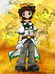 Mario: -FICTION- Desert King by saiiko