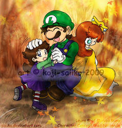 Mario: Autumn's Comfort by saiiko