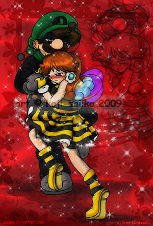 Mario: Dance, my little bee by saiiko