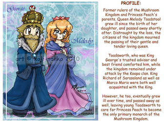Mario: P5 - Peach's Parents by saiiko