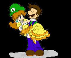 Mario: COLLAB - Pick me up by saiiko