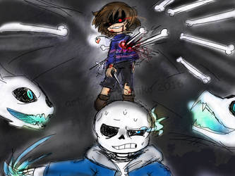 Undertale: Wanna try again? by saiiko