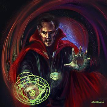 Doctor Strange by alinafutura