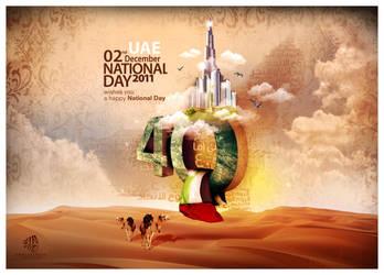 UAE National Day by Abdallha