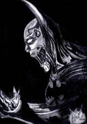 Zombie batman by AdrianZerogo