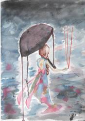 Just a rainy day II. by Aisa-Nana