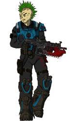 Gears of War: Pike by Brett-Neufeld