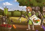 The Harvest Pilgrimage by Brett-Neufeld