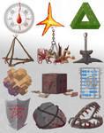 Unholy Symbols of the Dark Gods by Brett-Neufeld