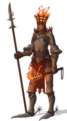 Hell Knight Signifier by Brett-Neufeld