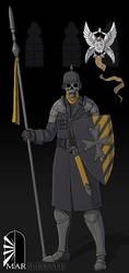 Vandalian Soldier by Brett-Neufeld